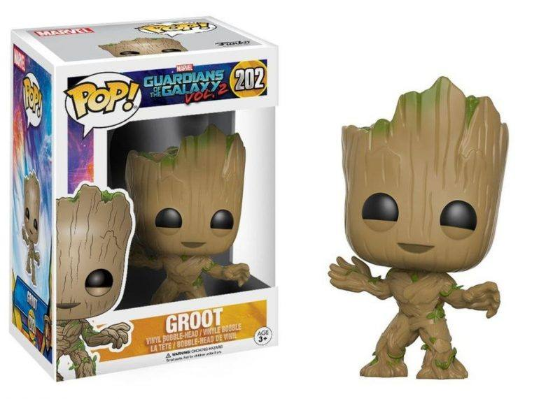 Funko POP Marvel Dancing Groot Bobble Action Figure 2017 hot holiday toys
