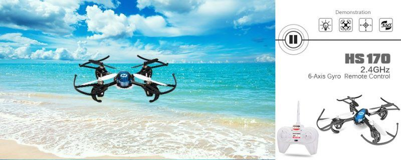 Holy Stone HS170 Predator Mini RC Helicopter Drone 2017 hot holiday tech kids toys