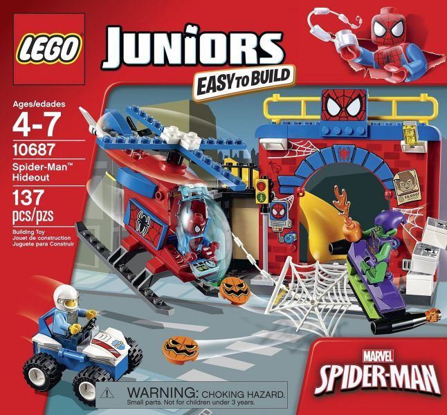 LEGO Juniors Spider-Man Hideout 10687 Toy, Marvel Legends 2017 hot holiday toys