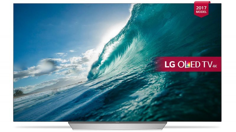 LG OLED55C7 best 2017 black friday cyber monday tv deals