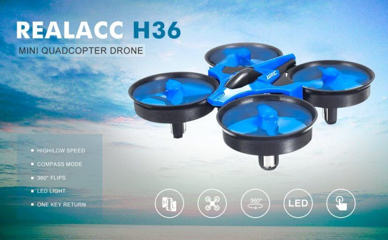REALACC H36 Mini Quadcopter Drone 2.4G 4CH hot holiday tech kid toys 2017