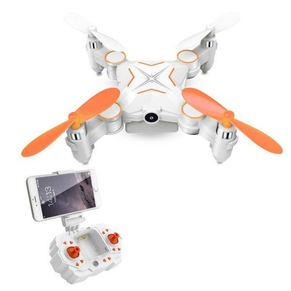 Rabing Mini Foldable RC Drone FPV VR Wifi RC Quadcopter Remote Control Drone hot holiday tech toys 2017