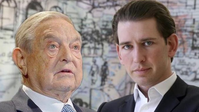 Sebastian Kurz banned george soros foundation from austria fake news alert