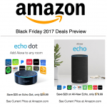 amazon echo 2017 black friday deals hot holiday tech toys gifts