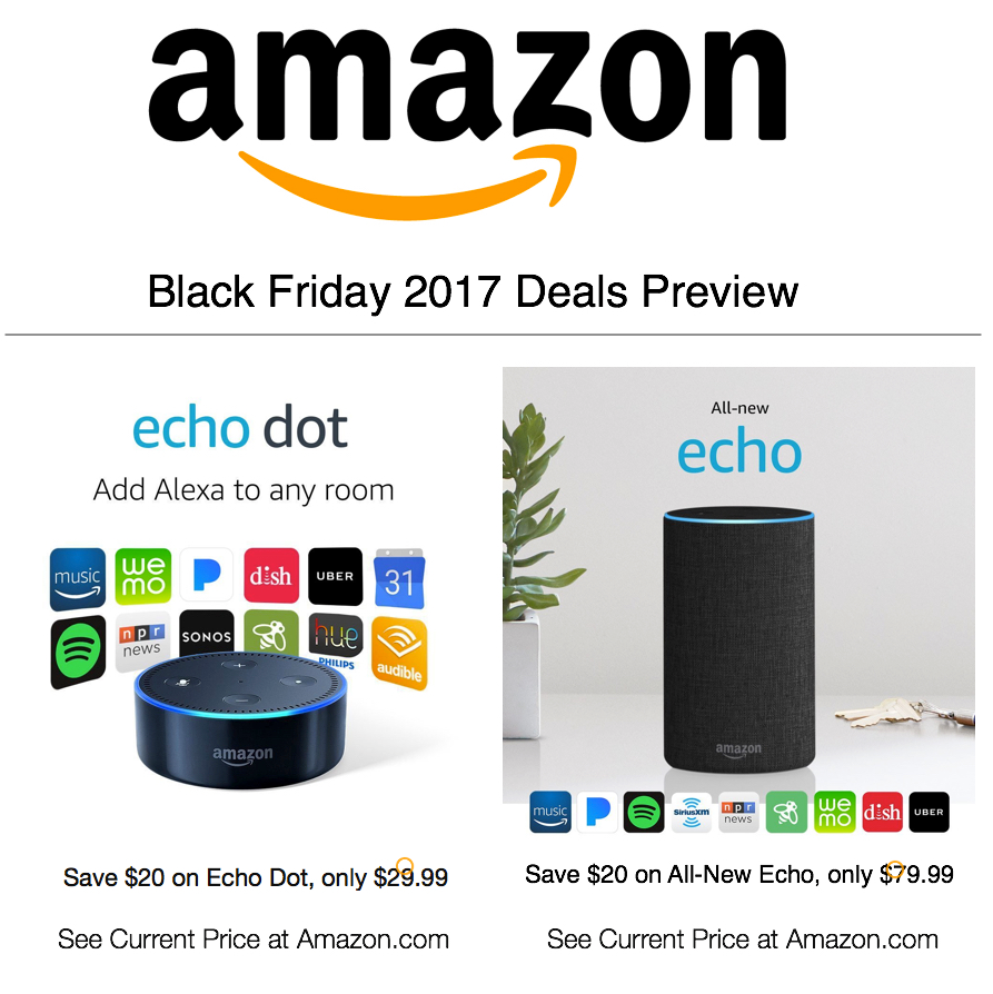 Deals to keep an eye on for Black Friday