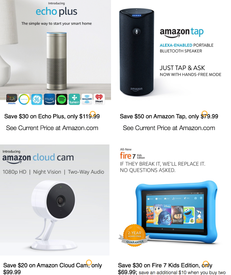 amazon 2017 black friday deals begin cyber monday 2017