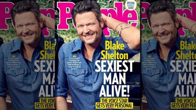 blake shelton sexiest man alive people magazine