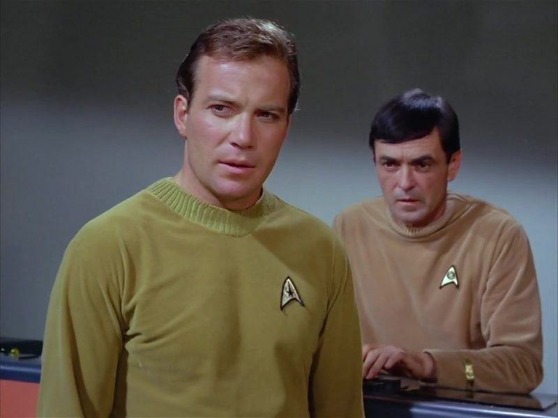 captain kirk with scotty