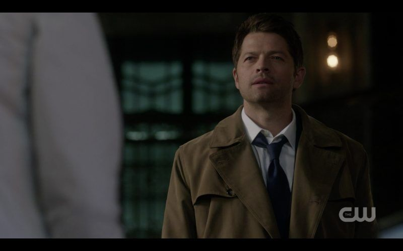 castiel supernatural talks to jack tombstone