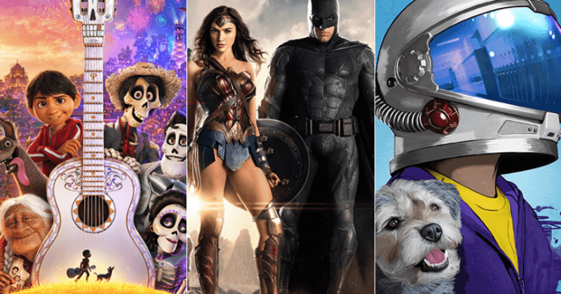 coco justice league and wonder top thanksgiving box office