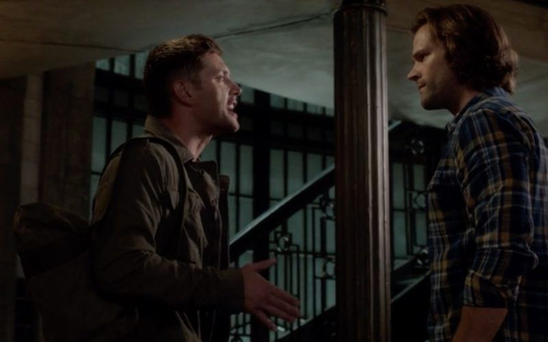 dean sam wincheter fighting again supernatural patience