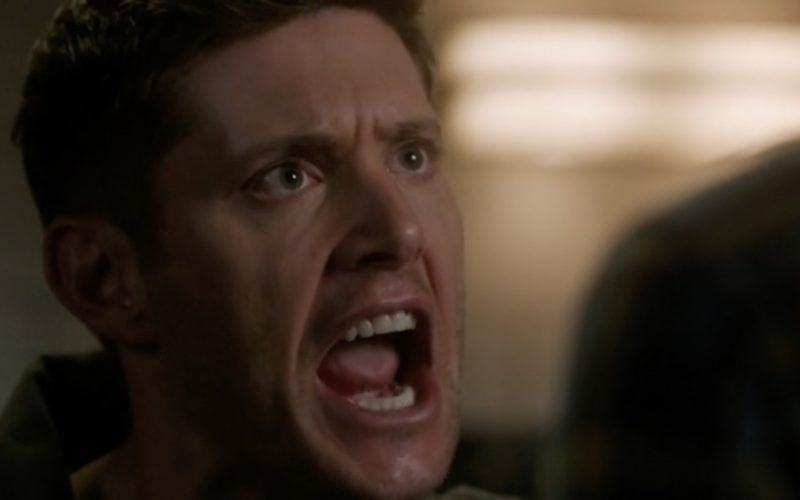 dean winchester lashing out at supernatural sam