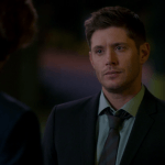 dean winchester supernatural quizzical with sam