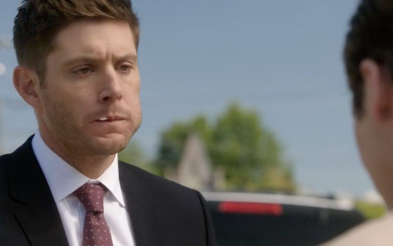 dean winchester with a mouthful of jack supernatural hot sauce
