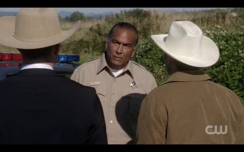 eric schweig supernatural tombstone sheriff with dean castiel