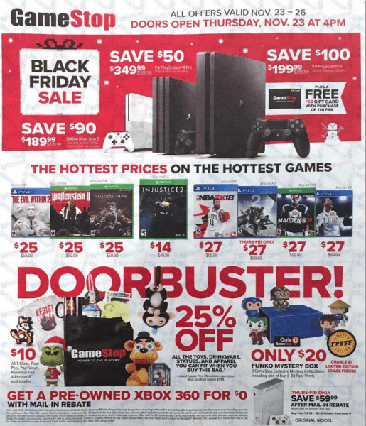 gamstope 2017 black friday console deals page 1