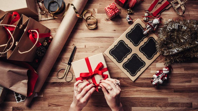 getting gifts wrapped after black friday cyber monday