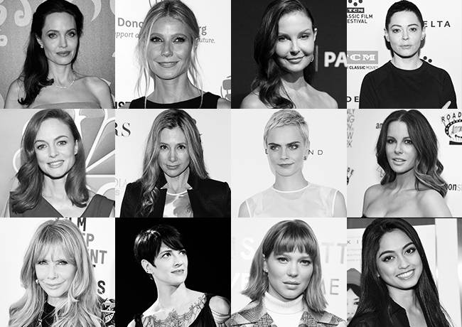 harvey weinstein accusers hollywood white women