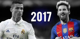 have cristiano ronaldo, lionel messi reached top five best soccer players of all time status 2017 images
