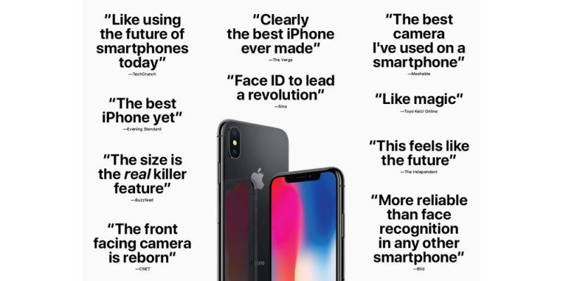 iphone x reviews apple