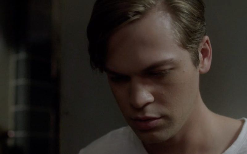 jack calvert thinking sad about lucifer dad supernatural 1303