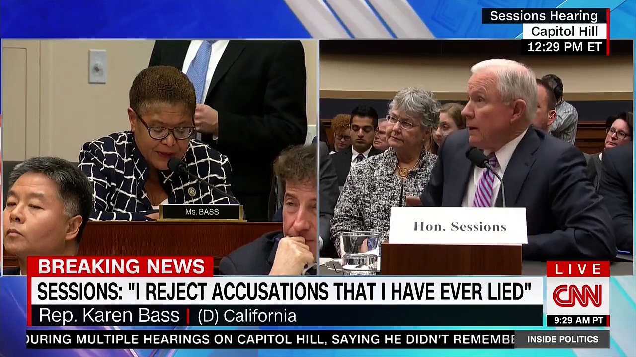 jeff sessions and that black identity extremist report 2017 images