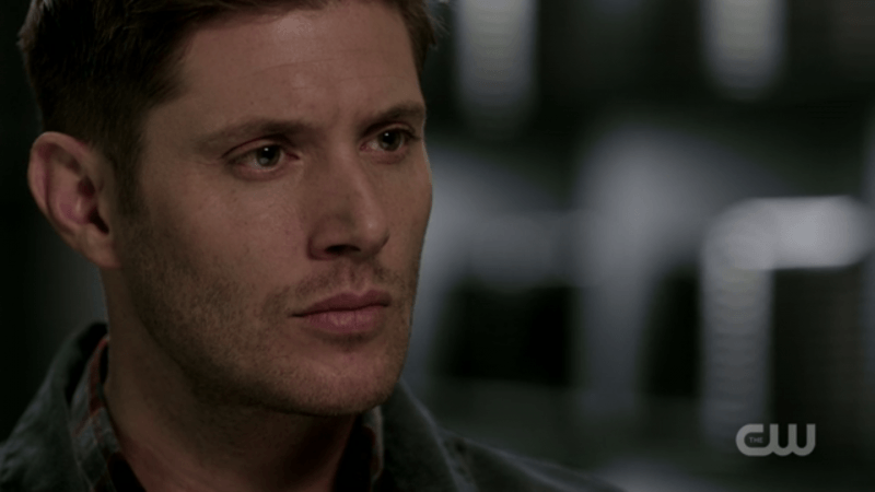 jensen ackles dean firm look supernatural
