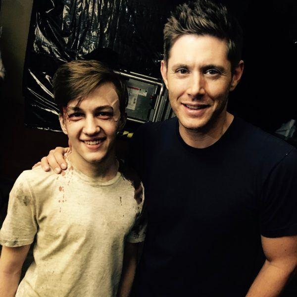 jensen ackles with seth isaac johnson movie tv tech geeks supernatural interview