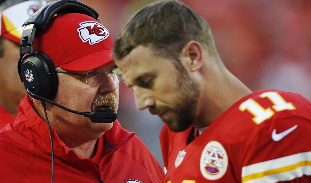 Chiefs sticking with Alex Smith at QB for Week 13 vs. Jets