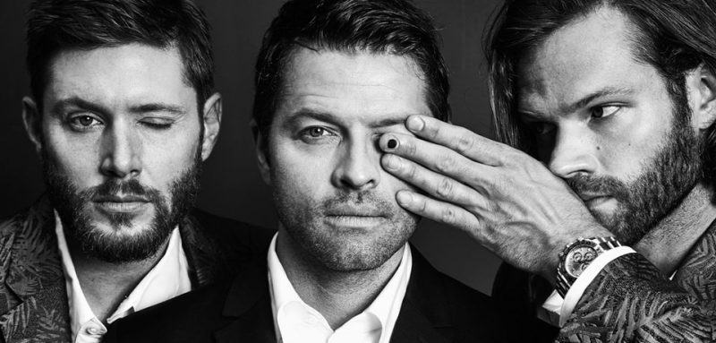 landing that jensen ackles jared padalecki misha collins interview for movie tv tech geeks