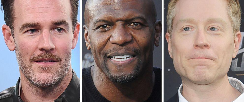 men victimized by other men in hollywood james van der beek terry crews