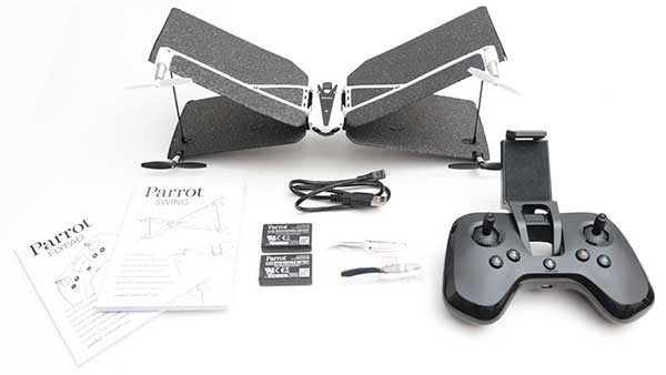 parrot swing drone with bluetooth flypad controller 2017 hottest cyber monday tech deals