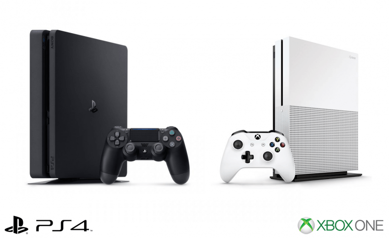 ps4 vs xbox one s 2017 hot cyber monday deals