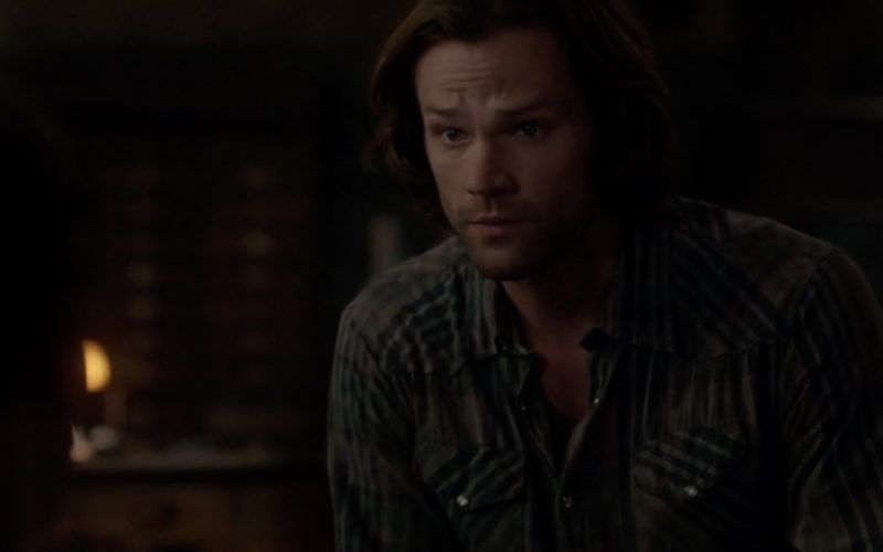 sam winchester gently with jack calvert on supernatural patience