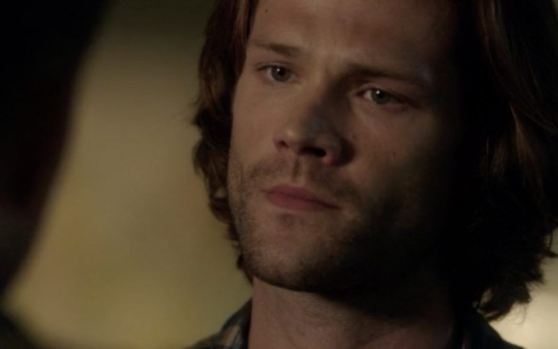 sam winchester giving mournful supernatural look 1303