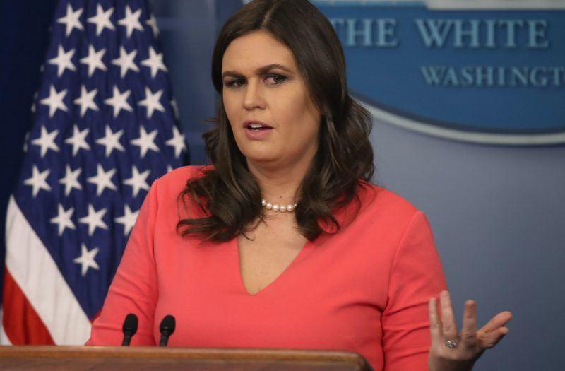 sarah huckabee sanders promote rape culture for white house