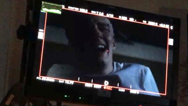 seth isaac johnson laughing on supernatural set mttg interview