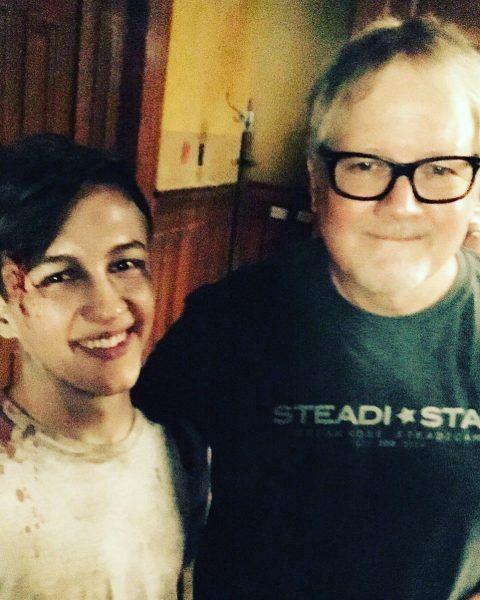 seth isaac johnson with supernatural director john 2017