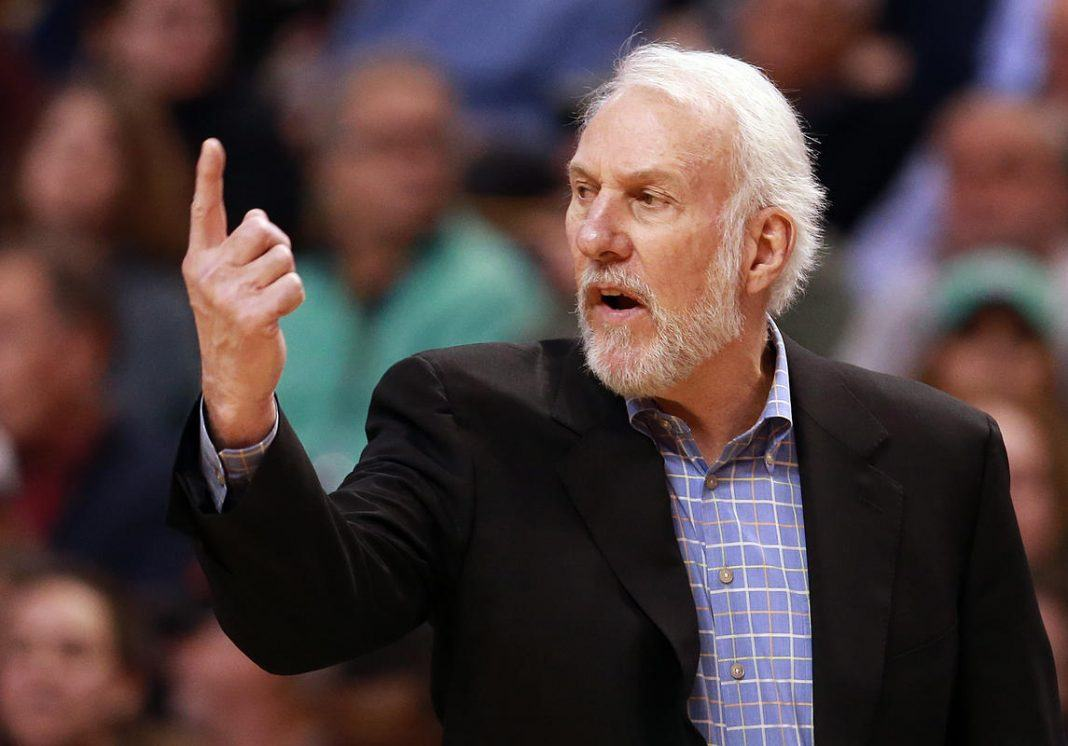 Spurs Gregg Popovich questioning NBA player 'resting rules' 2017 images