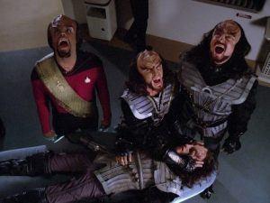 star trek voyager klingons
