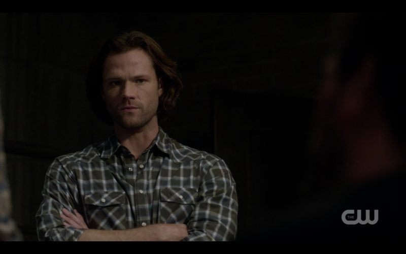 supernatural 1307 sam winchester folded arms look