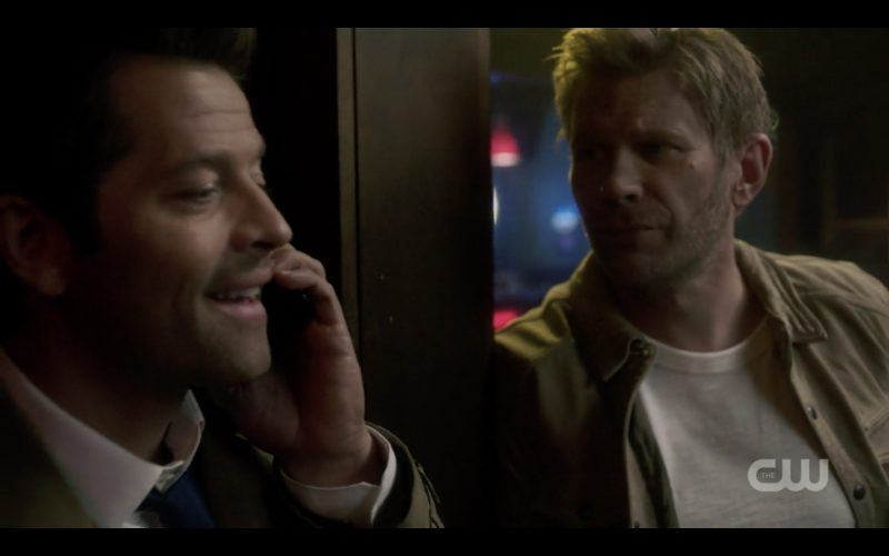 supernatural castiel on phone with lucifer war of the worlds