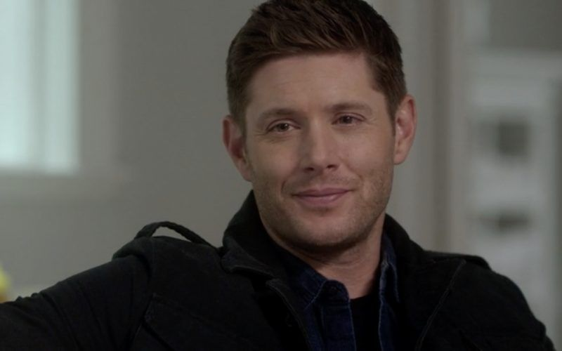 supernatural dean winchester smirk at sam on therapist couch