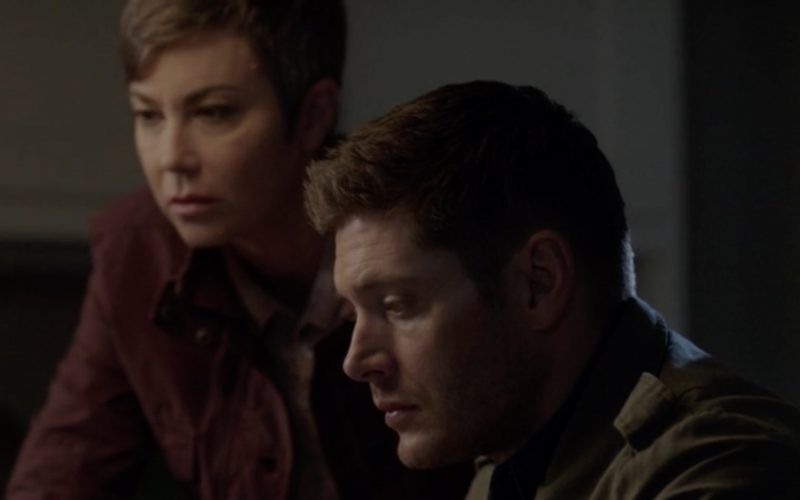 supernatural dean winchester with jody mills