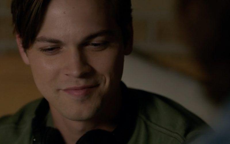 supernatural jack happy with sam dean threeway action smile