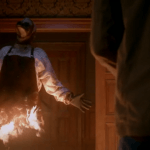 supernatural man on fire with ghosts 1305