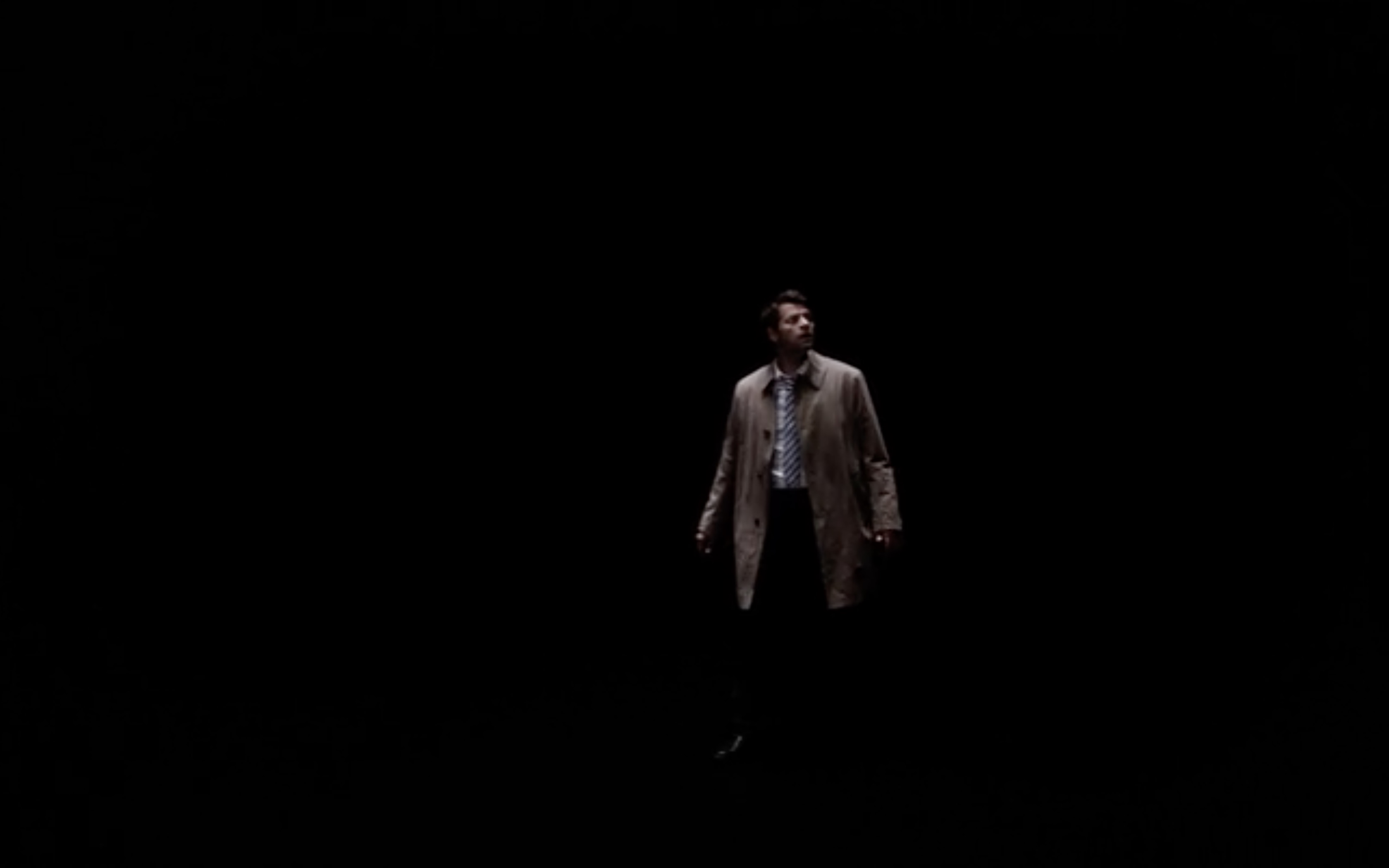 supernatural misha collins castiel being called by jack on big empty