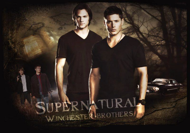 supernatural winchester brothers are fictional characters people