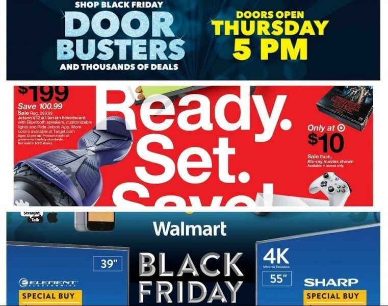 target walmart amazon hottest 2017 black friday deals