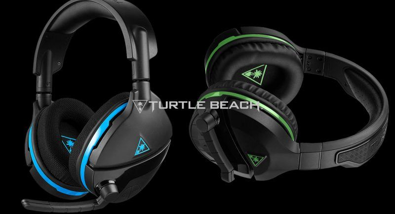 turtle beach blue green stealth 600 wireless headsets
